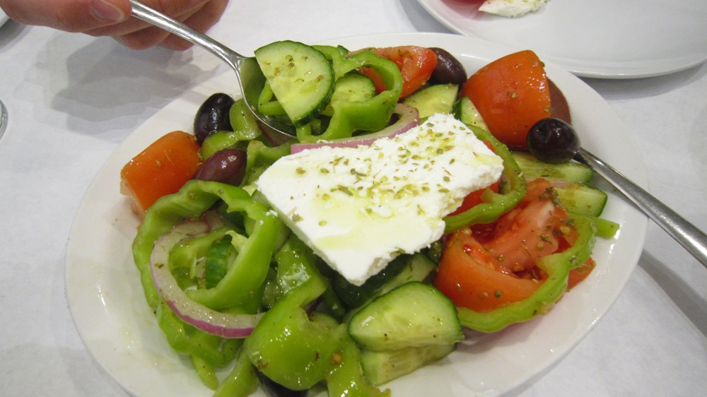Dancing Greek Taverna Salad