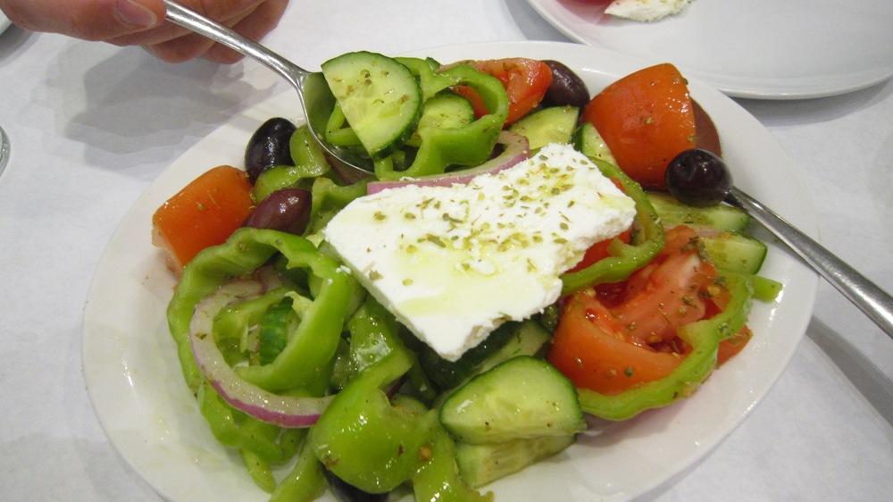 Dancing Greek Taverna Salad