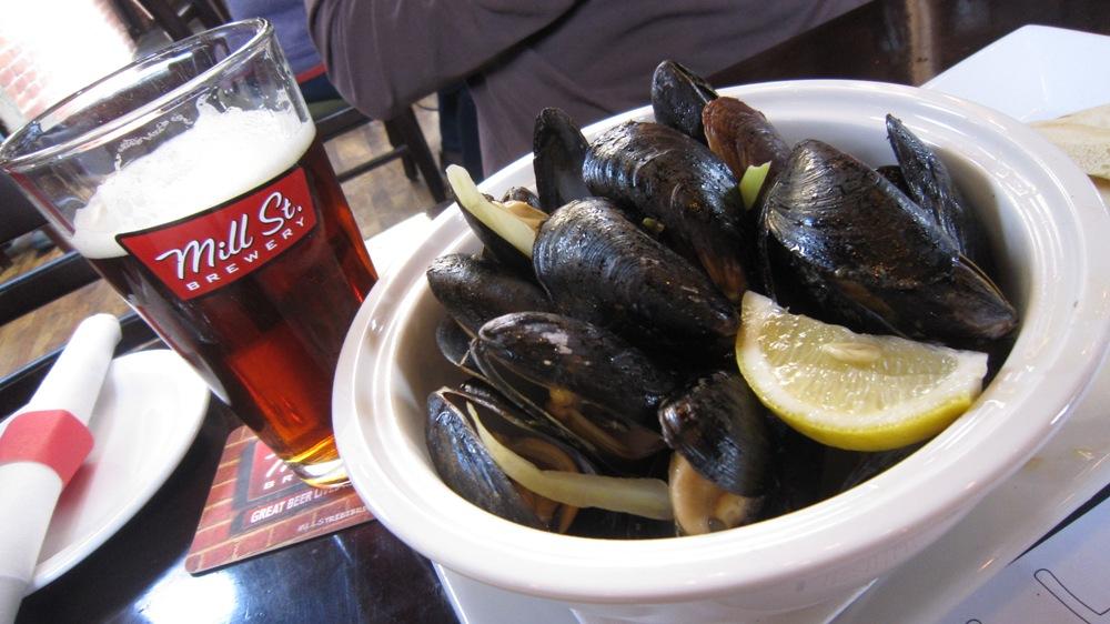 Mill Street Brew Pub Mussels