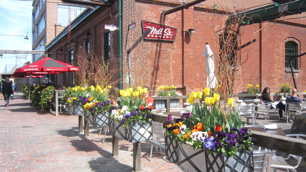 Mill Street Brew Pub Patio