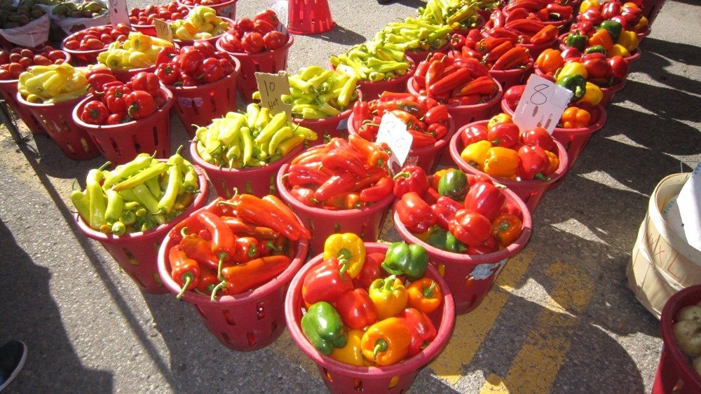St. Jacobs Market Vegetables