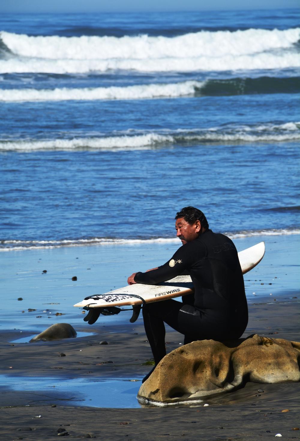 Torrey Pines Surfer